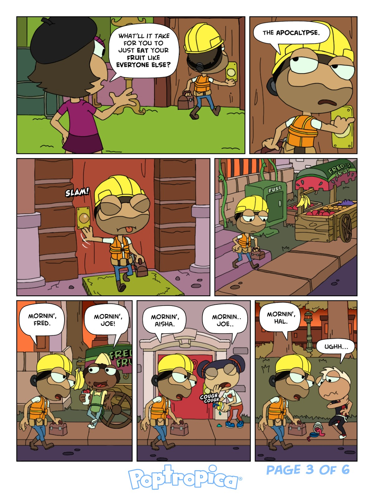 Zomberry Comics | Poptropica Tips For Poptropicans