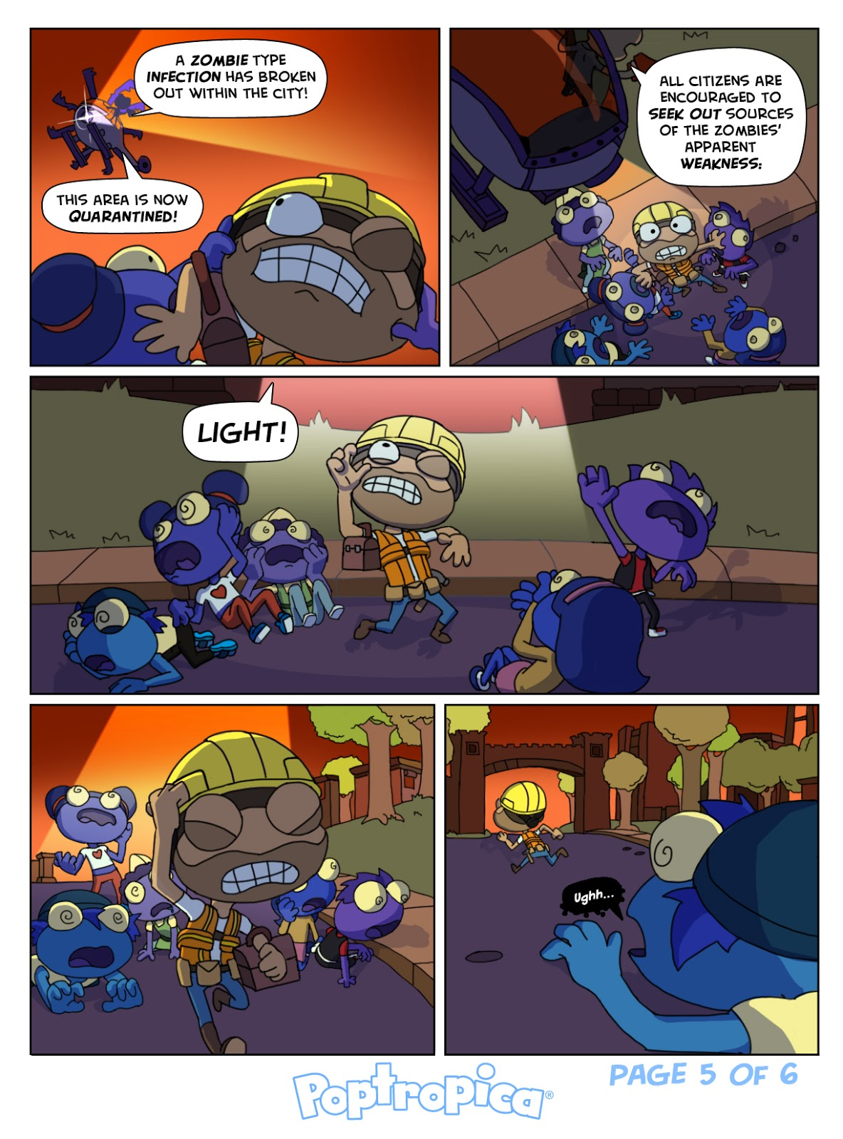 Zomberry comics poptropica tips for poptropicans