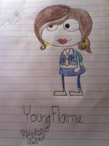 """Young Flame of 'As Poptropica Turns'"" by Nameless UnDEFiNed"