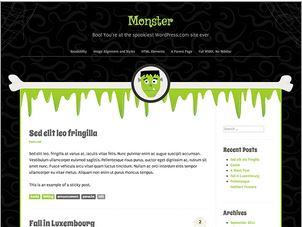 Halloween Theme - Monster