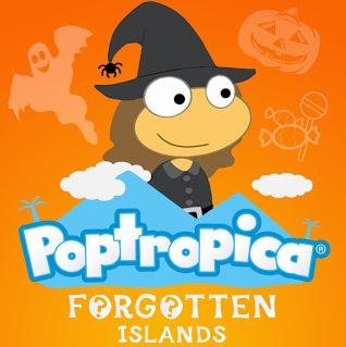 Poptropica Forgotten Islands - Halloween 2013