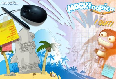 Mocktropica Wallpaper 1