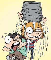 Oliver and Jorge Ice Bucket Challenge