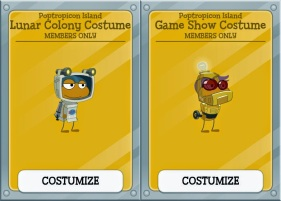 poptropicon costumes
