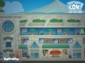 poptropicon wallpaper