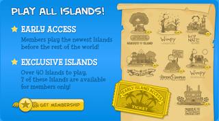 membership islands