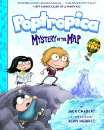 The Poptropica graphic novel Mystery of the Map is available in bookstores on March 1.