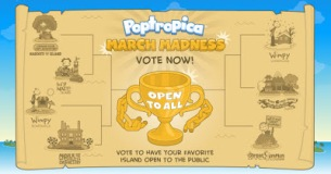Vote for the Members-only island you want to open to everyone on Poptropica.